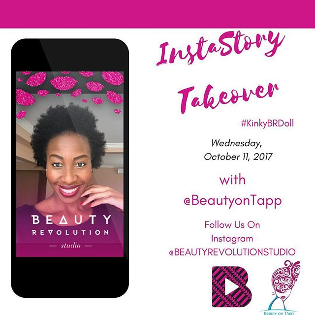 So excited our South African doll @beautyontapp will be taking over our Insta-story to show her nighttime hair routine. We can't wait @beautyontapp has so much knowledge on going natural so get ready and stay tuned! #KinkyBRDoll