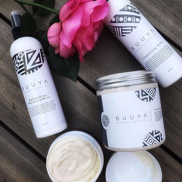 Heard awesome things about this #southafrica brand @buuyabeauty which includes the cleansing milk, shampoos, conditioners, skin butter and hair masks all available on @beautyontapp in South Africa