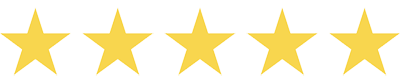5 stars on Amazon