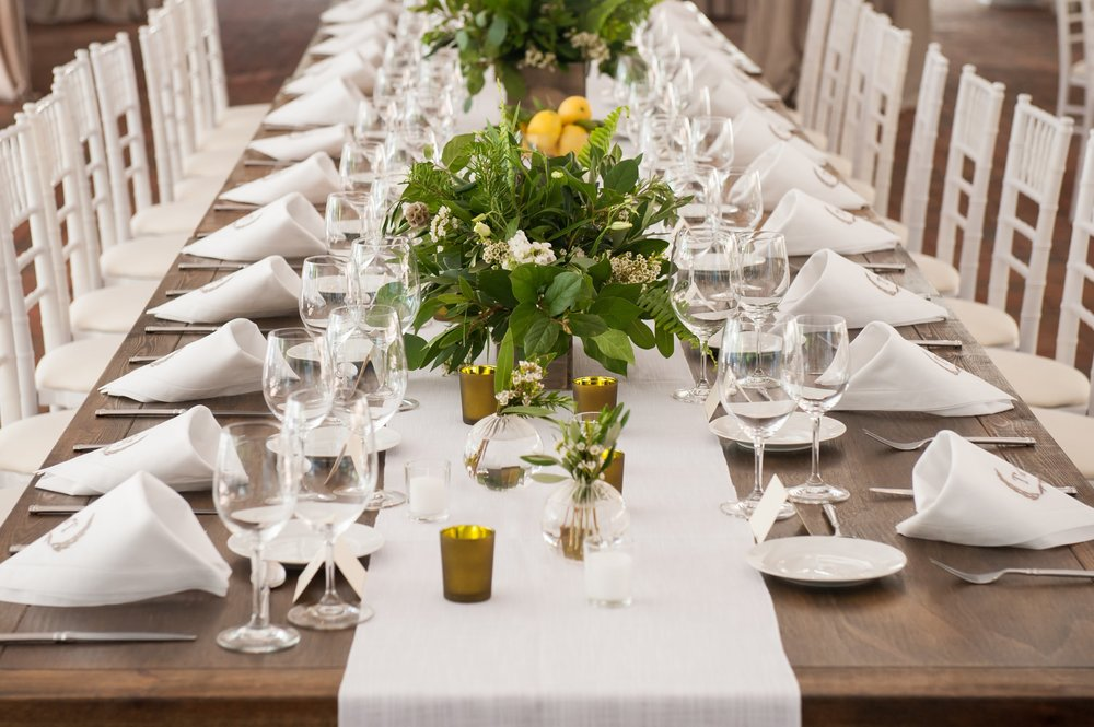 Rehearsal Dinner with florals by Yellow Canary Floral & Event Design located in the Cincinnati area. Photo by Ben Elsass Photography