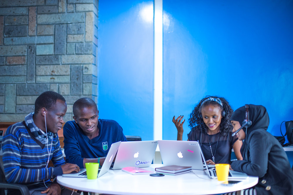 Andela invests in Africa's most talented software developers to help leading tech companies build high-performing engineering teams.