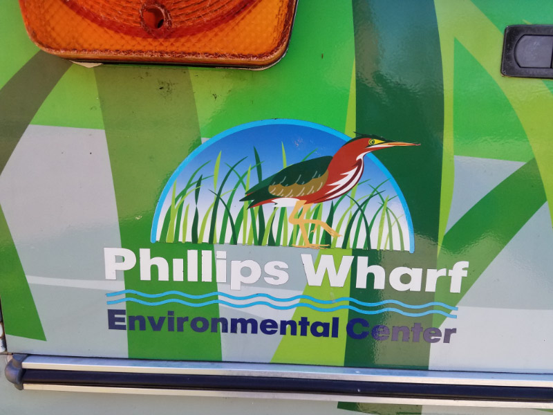 - Last week, I volunteered when the Phillips Wharf Environmental Center's Fishmobile visited an elementary school in Carroll County, Maryland.