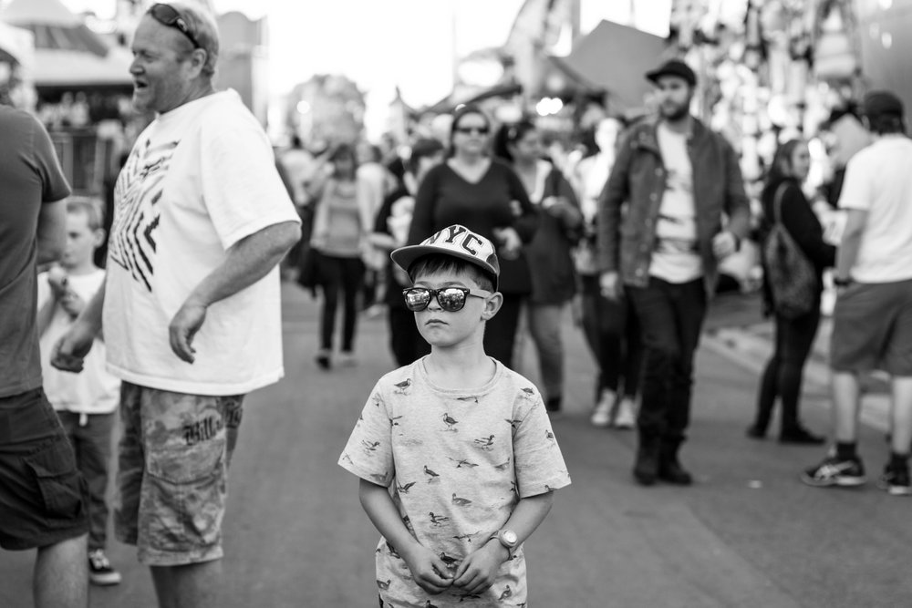 Lauren McAdam Photography Family Photographer Geelong Show boy in crowd.jpg