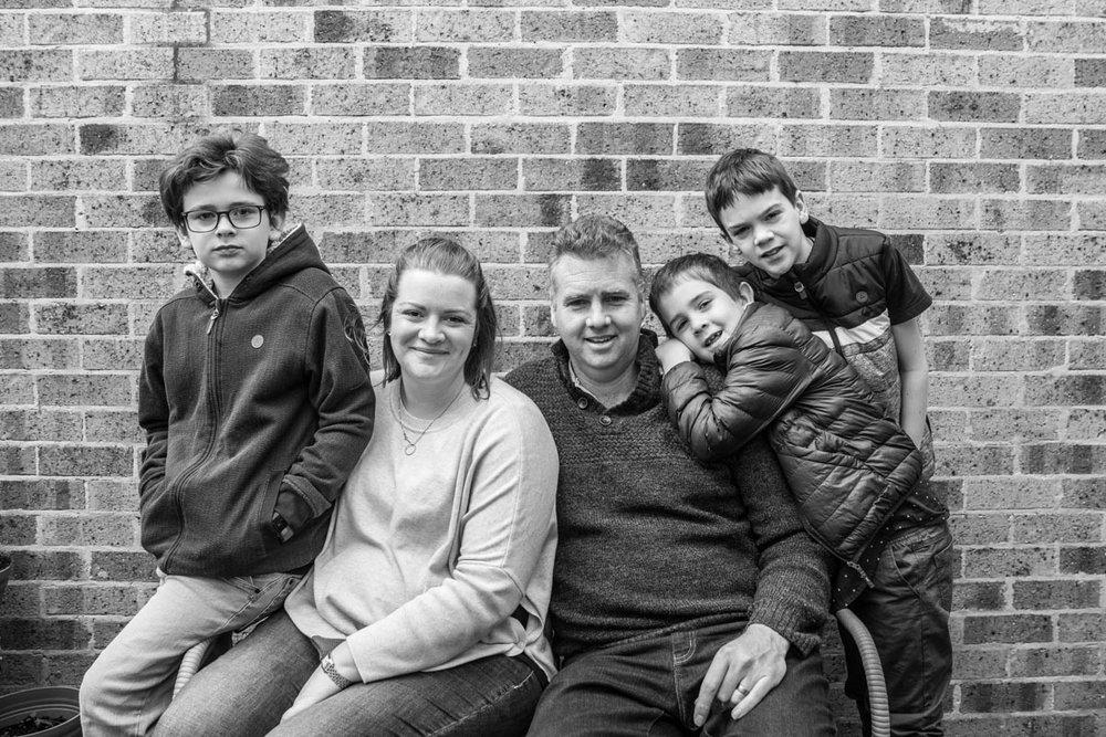 Geelong family portrait torquay belmont family photographer Lauren McAdam