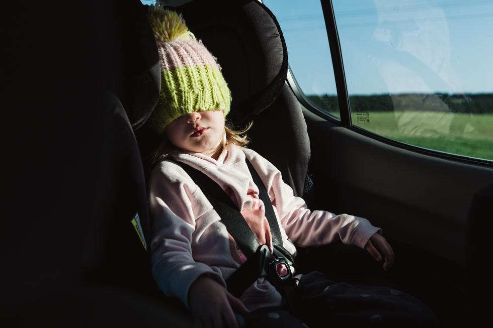 Lauren McAdam family photos Photographer geelong highton newtown belmont torquay car project sleeping.jpg