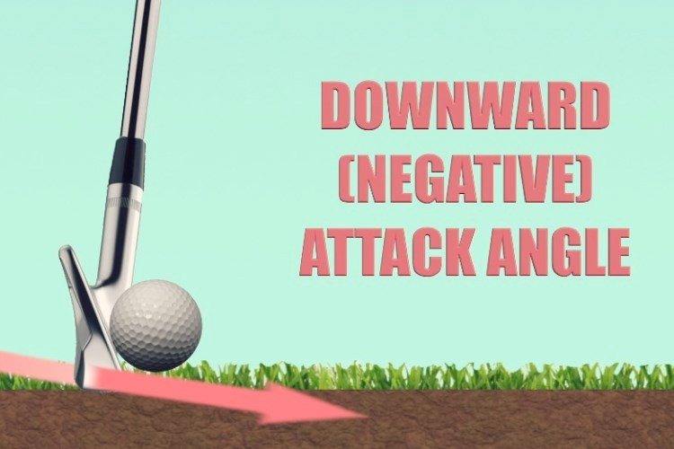 Learn how to strike the golf ball on a negative downward attack angle with The Strike Plan