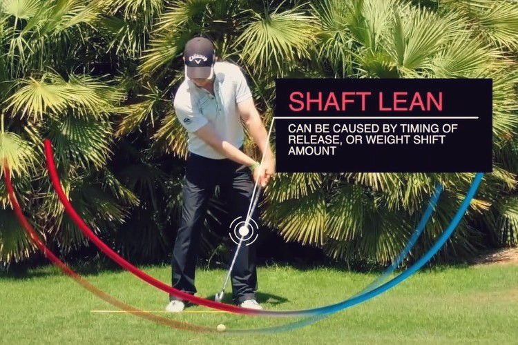 How to get forward shaft lean like the pros in The Strike Plan