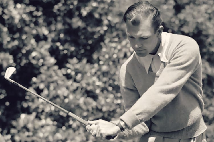 Ben Hogan's #1 secret in this Stress Free Golf Swin greview