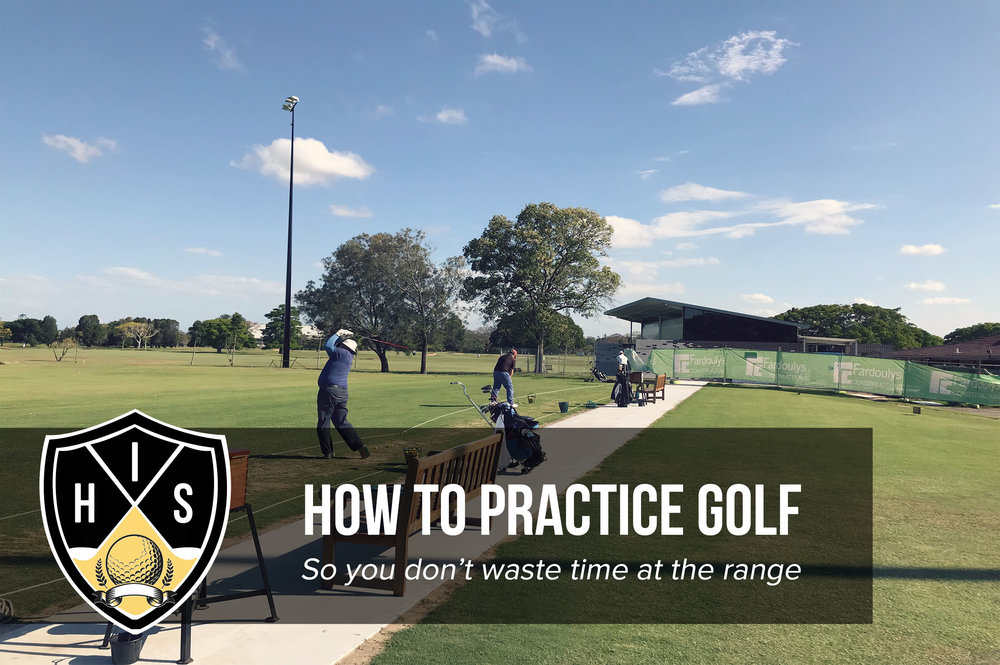 how to practice golf