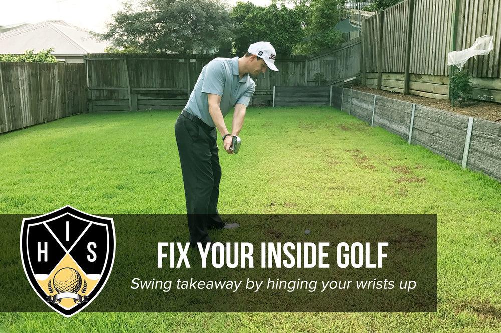 Golf Swing Takeaway