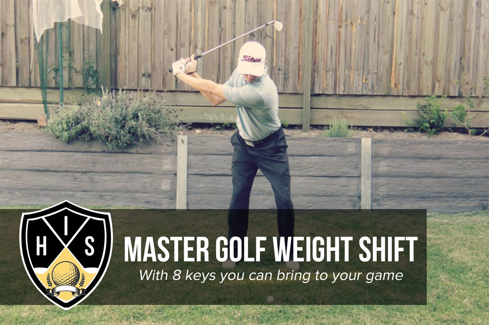 golf weight shift