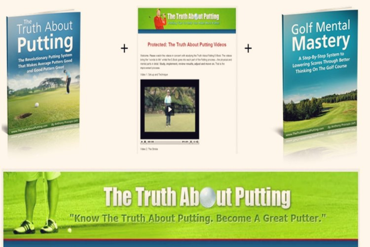 If you want to find the most comprehensive Truth About Putting review to learn how you can improve your putting this is the only review you need to read. This review shares all the pros and cons of this quality golf putting program which teaches show how to make more putts and shoot lower scores.
