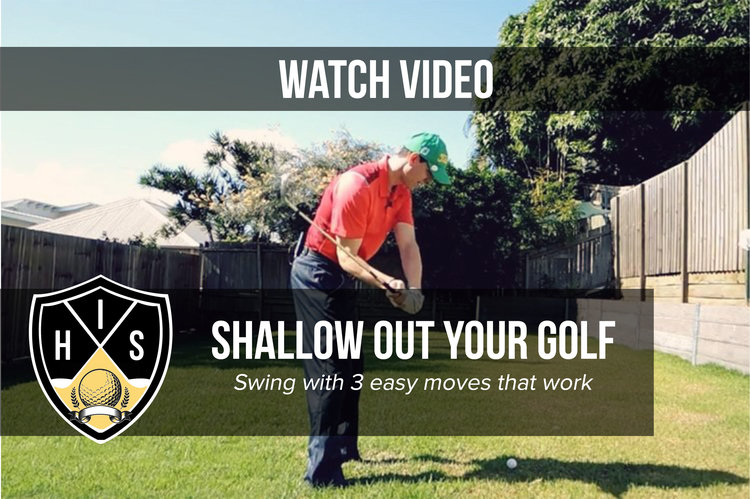 Shallow Out Your Golf Swing: Avoid 3 Mistakes Made by 99% of