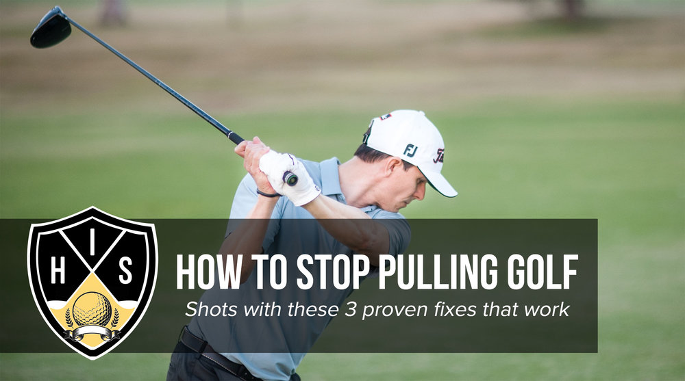 How to stop pulling golf shots