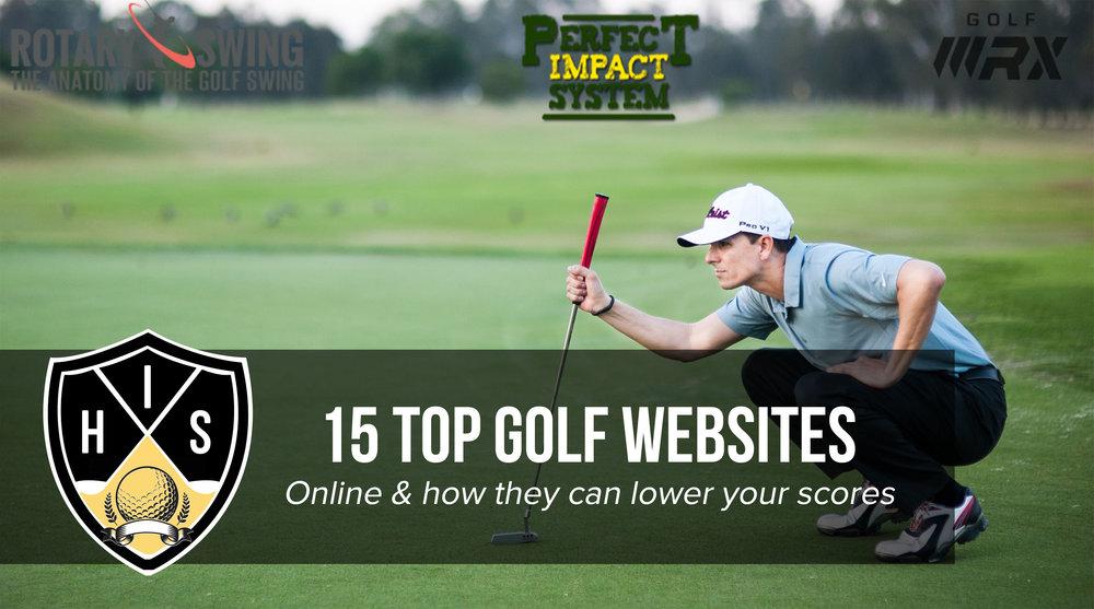 15 top golf websites online