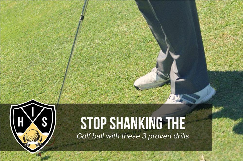Golf Shank Fix