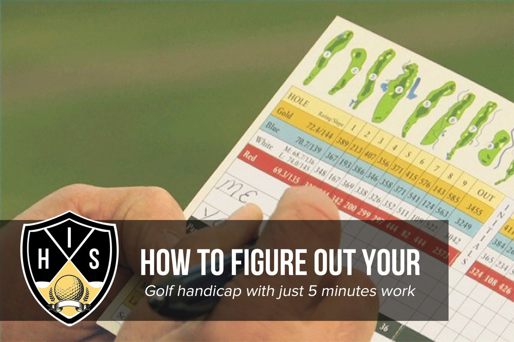 How To Figure Out Your Golf Handicap