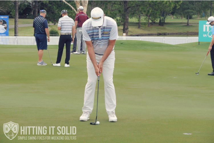 How to putt like a pro using the correct stance and grip