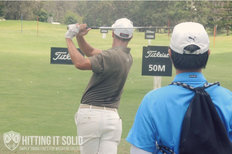 Adam Scott performing the perfect golf swing that works every time