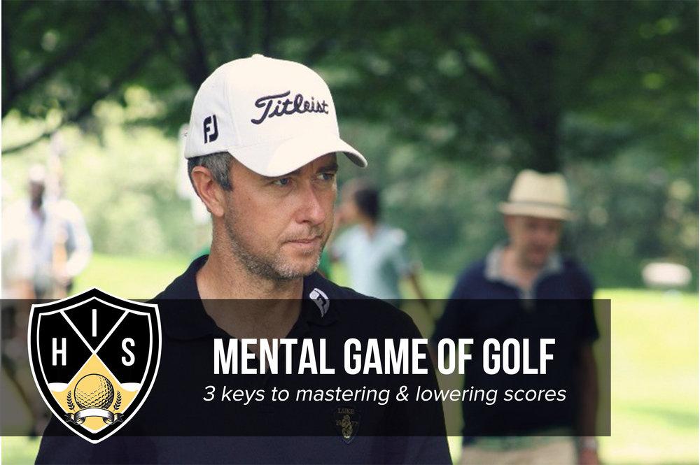 Mental Game of Golf