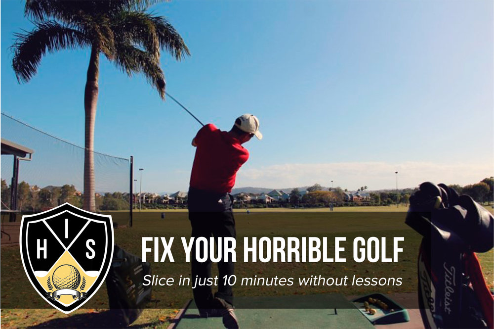Fix Golf Slice