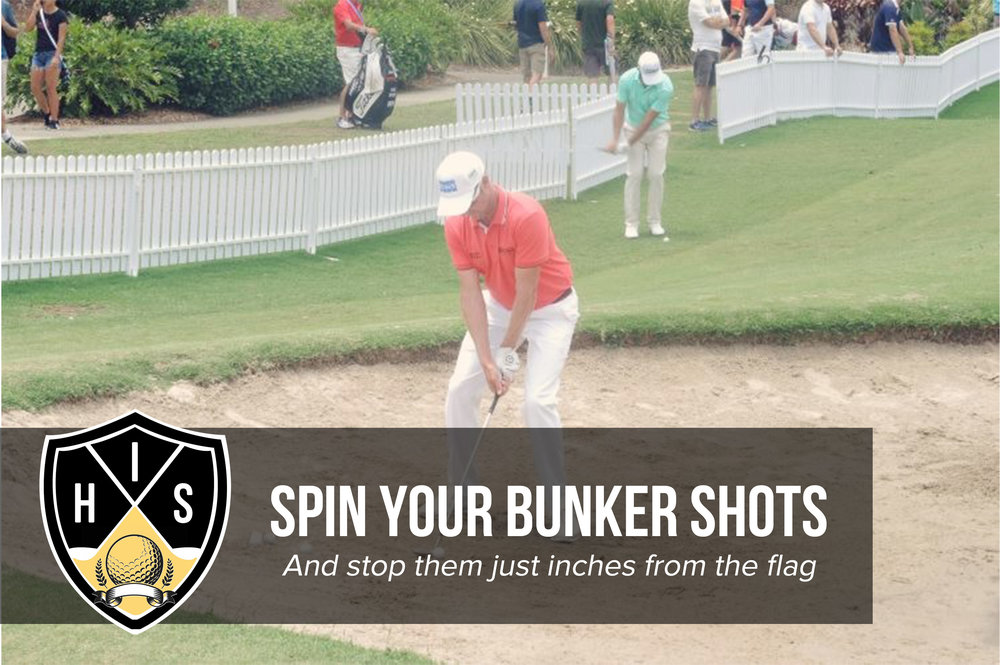 Spin Your Bunker Shots