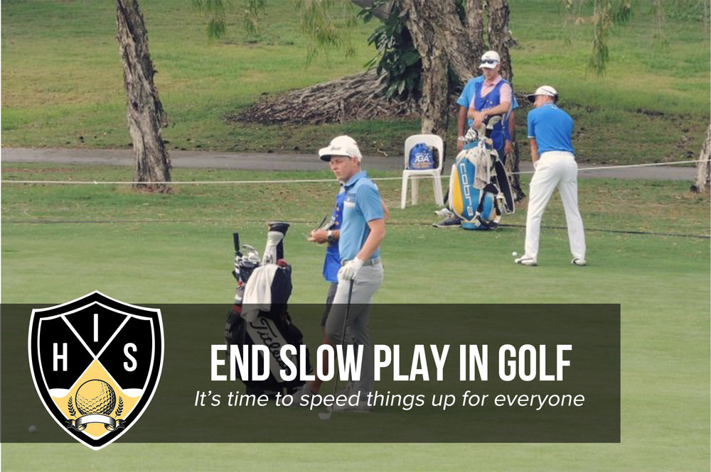 Slow Play Golf
