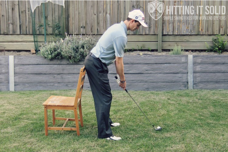 How to hit solid golf shots with all of your golf swings by practicing the right way