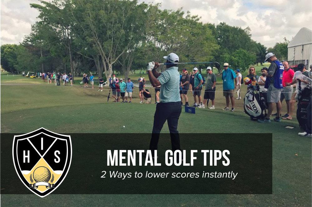 Mental Golf Tips