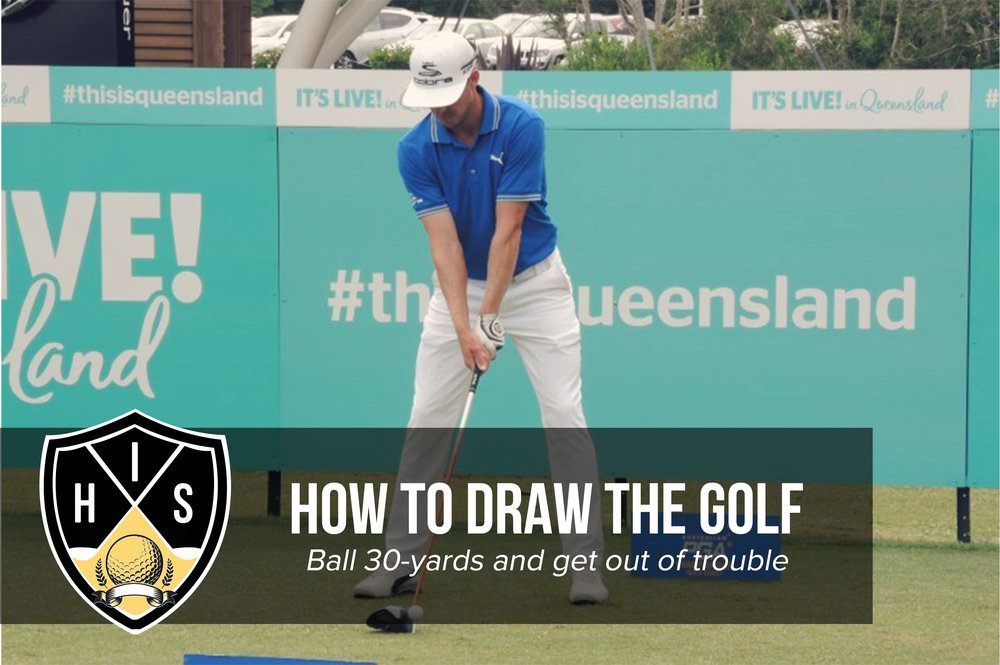 How to draw the golf ball