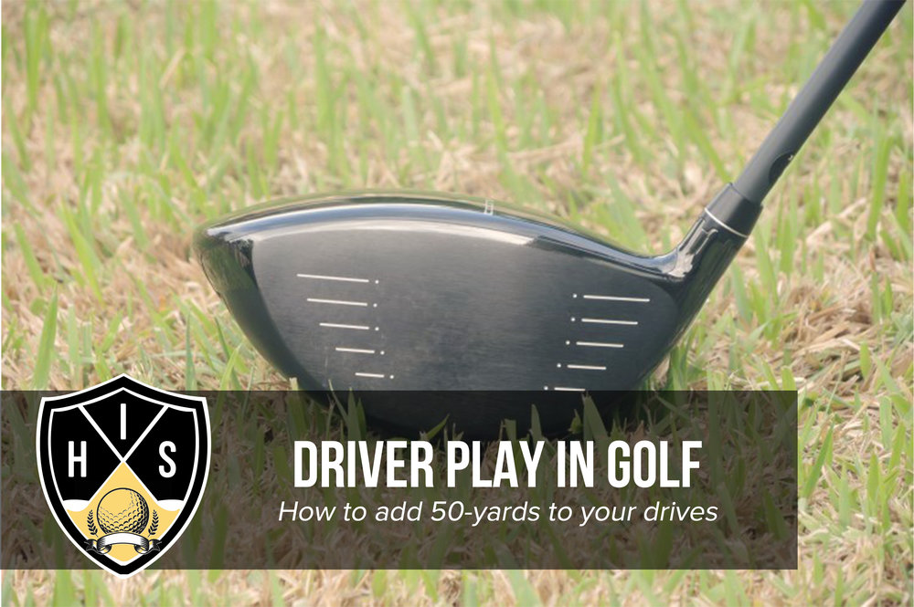 Driver Play in Golf