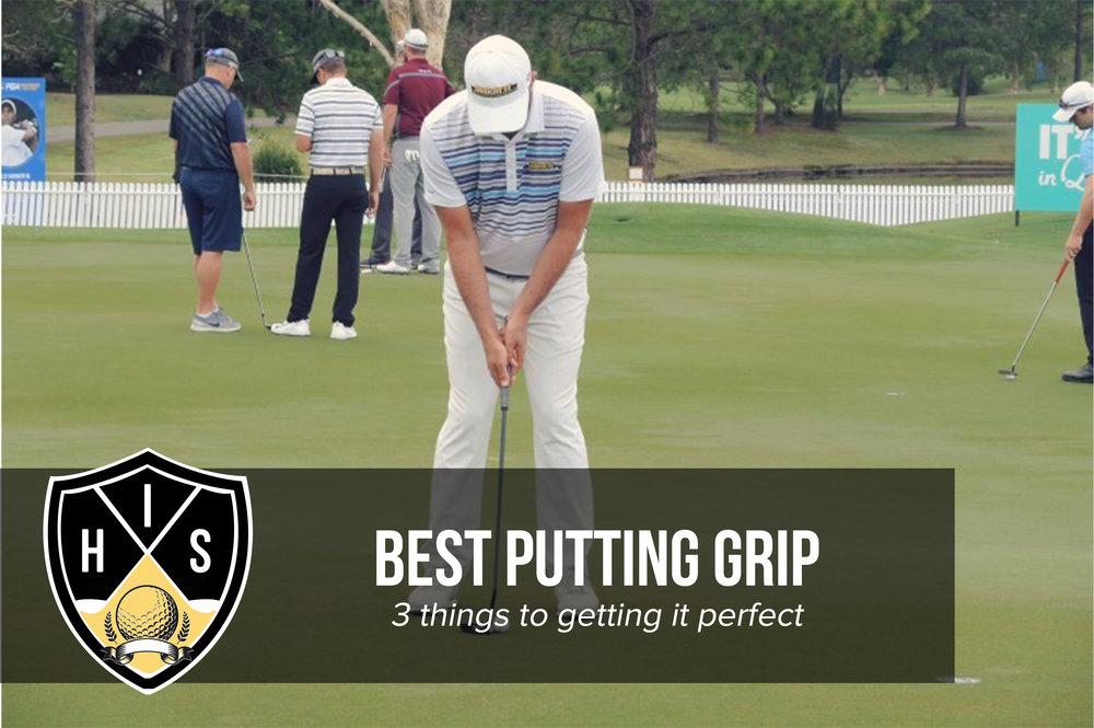 Best Putting Grip