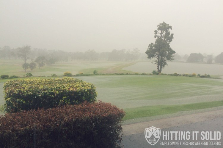 If you want to know how to play wet weather golf you need to have the right information. Learn how to play better wet weather golf with 3 lessons to help you master the elements.