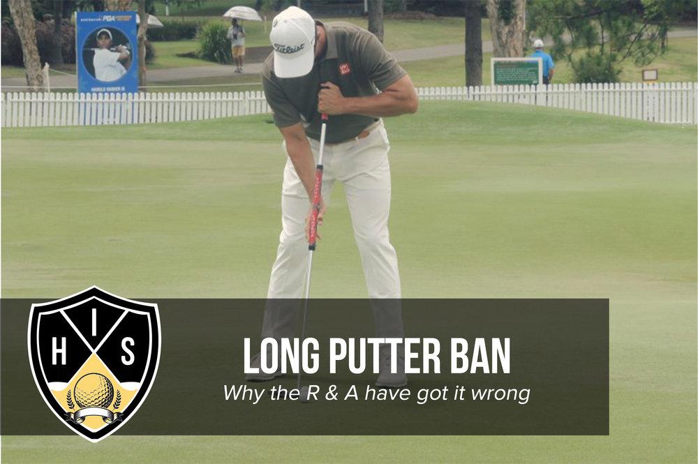 Long Putter Ban