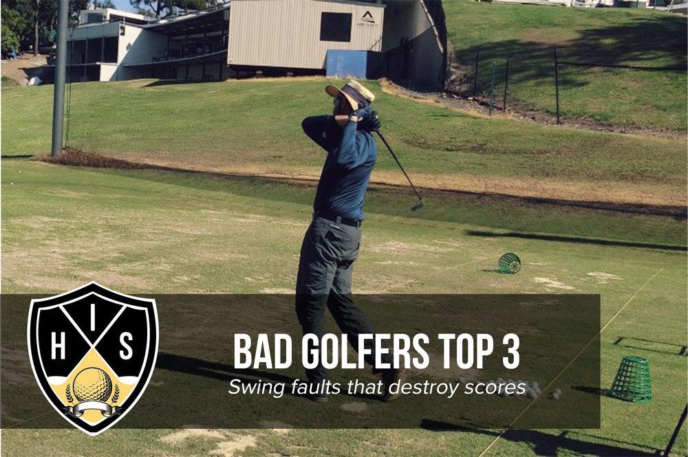 Bad Golfers