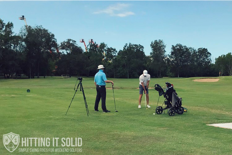 Giving a golf lesson is a top golfing gifts that your golfing partner will love