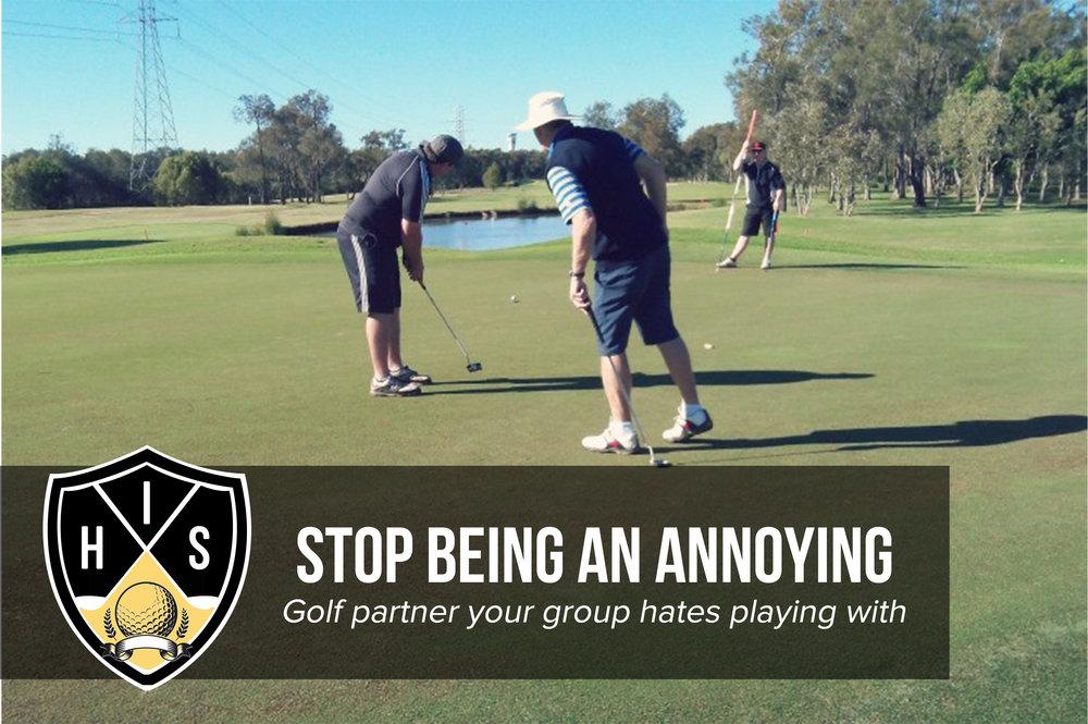 Annoying Golf Partner