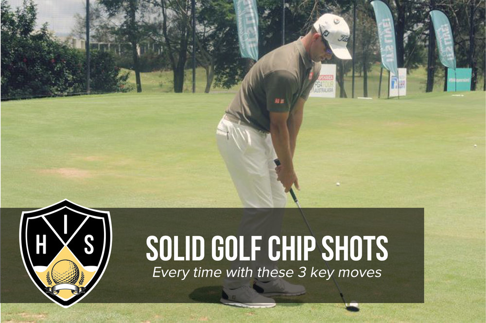 Solid Golf Chip Shots