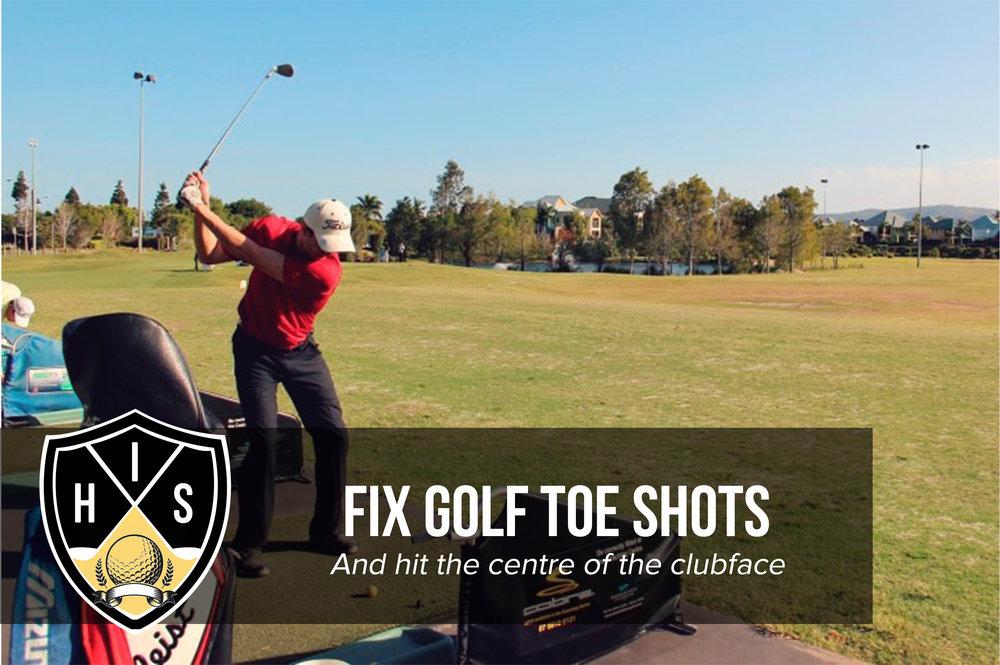 Golf Toe Shots