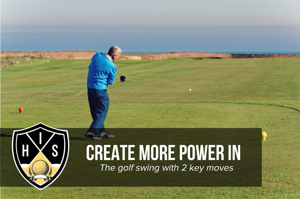 Power in the golf swing