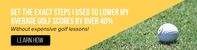 Get the exact steps I used to lower my average golf scores by over 40% in these free videos
