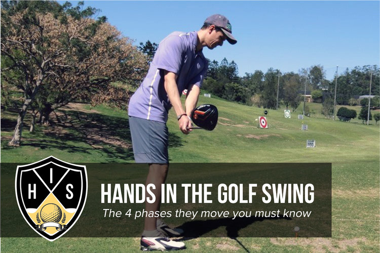 hands in the golf swing the 4 phases they move every golfer must