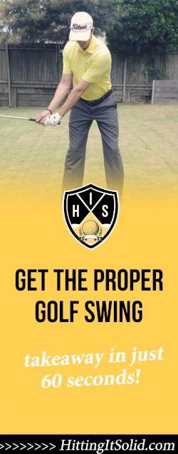 If you want to know how to get the proper golf swing takeaway you need to have the right information. Learn how to make a proper golf swing takeaway with a simple, 2 inch move that works every time.