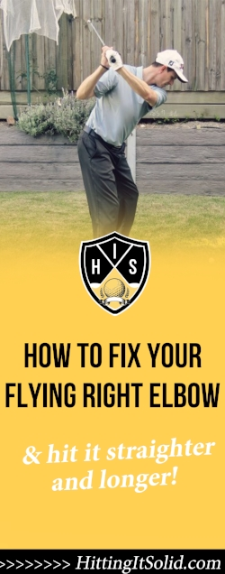 If you want to know how to fix your flying right elbow you need to have the right information. Learn how to fix your flying right elbow fast and hit the golf ball longer and straighter with these simple tips.