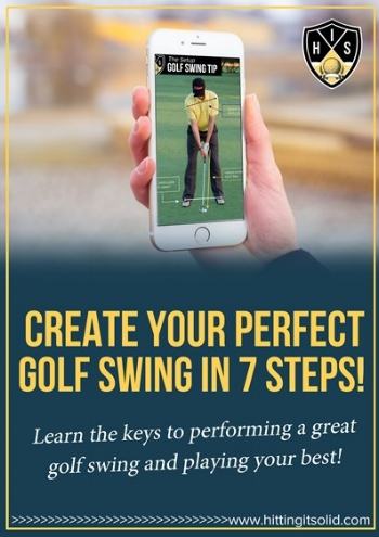 Play better golf today by getting 7 steps to creating your perfect golf swing