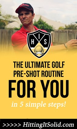 Learn how to develop a great golf pre-shot routine that helps you play your best golf. Discover 5 steps to unlocking your best golf play on the course leading to lower golf scores.