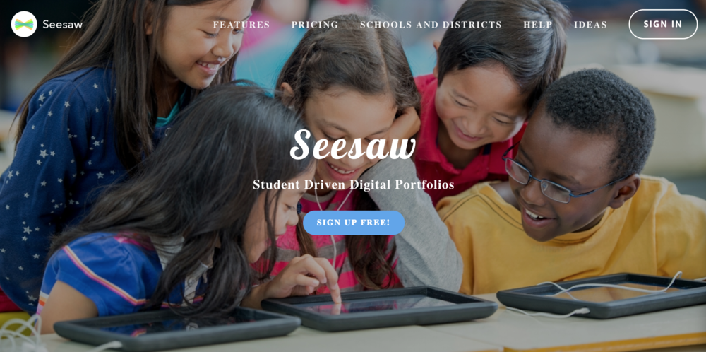 SeeSaw basics and beyond:   In this interactive and tailored session, participants will have the opportunity to share ideas about how they are currently using seesaw, some of their challenges or barriers, and activities they would like to explore with seesaw.