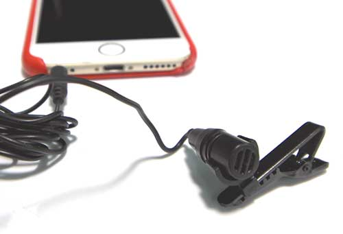 Lapel Microphone (x9) - Use these Lapel Mics to discreetly record yourself by clipping it to your clothes and connection it to your preferred device via the headphone jack.