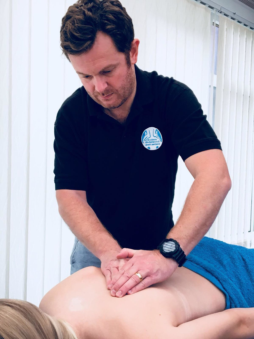 With a professionally equipped home clinic in Studley on the borders between Warwickshire and Worcestershire, I can offer a sports massage of either 30 or 60 minutes (or longer if required).   In addition to that, I am now also based twice a week at Cycling Fitness Centre in Umberslade Business park (www.cyclingfitnesscentre.co.uk), please visit their website to find out how to book.  Equally, I can travel to any location of your choice within an approximately 15 mile radius, covering Redditch, Henley in Arden, Alcester, Warwick and Stratford on Avon.  You don't need to bring anything, as I will come fully equipped with a professional massage bench, towels and oils. -
