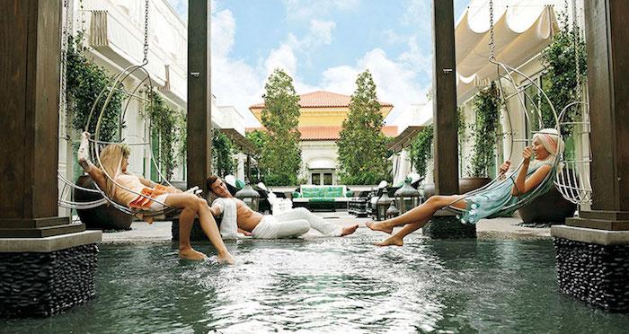 Eau Palm Beach Spa-hotelsite